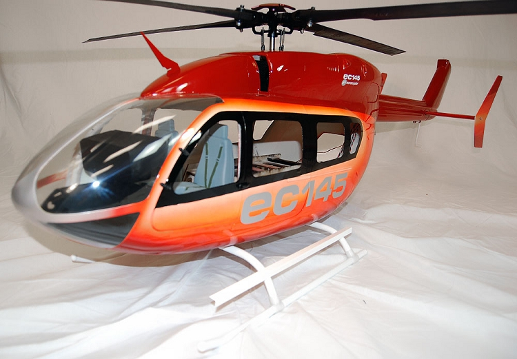 Fiberglass Canopy for Trex-450 Pro & Fuselage for 450 size heli